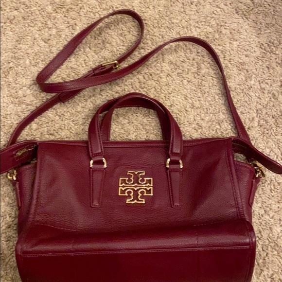 Tory Burch Handbags - Burgundy Tory Burch purse